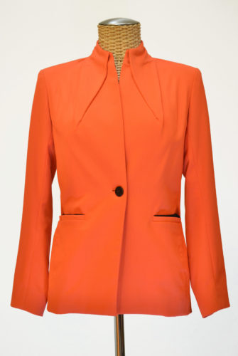 "Veste Tailleur ""Magic Col"" Corail"